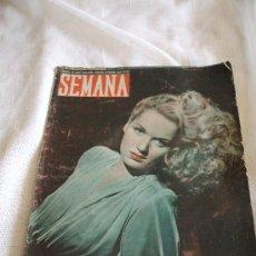 Coleccionismo de Revistas y Periódicos: REVISTA SEMANA DE 1948 . Lote 17586418