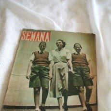 Coleccionismo de Revistas y Periódicos: REVISTA SEMANA DE 1948 . Lote 20988937