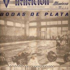 Coleccionismo de Revistas y Periódicos: REVISTA NATACION MANRESA.AÑO 1955.NMERO 100.. Lote 14076088