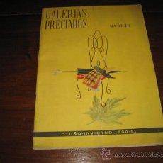 Coleccionismo de Revistas y Periódicos: REVISTA GALERIAS PRECIADOS OTOÑO-INVIERNO 1950-51 MADRID. Lote 14109931