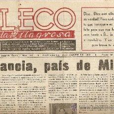 Coleccionismo de Revistas y Periódicos: EL ECO DE LA MILAGROSA.NOVIEMBRE 1951.PREMIOS DE NUESTRO CERTAMEN LITERARIO.. Lote 14152274