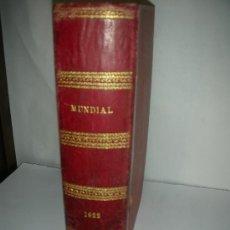 Coleccionismo de Revistas y Periódicos: REVISTA MUNDIAL,1920, PUBLICIDAD, ,. Lote 27207166