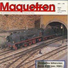 Coleccionismo de Revistas y Periódicos: MAQUETREN-4. REVISTA MAQUETREN Nº 4. 5-1992. Lote 14171420