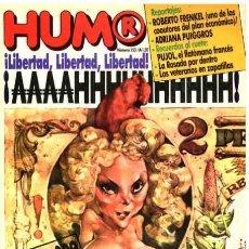 Coleccionismo de Revistas y Periódicos: HUMOR # 153 - JUNIO 1985 - TAPA LIBERTAD LEBLANC - EDITORIAL LA URRACA - NUEVA - 100 PAGINAS. Lote 21177581