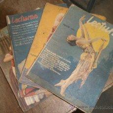 Coleccionismo de Revistas y Periódicos: LOTE DE 19 REVISTAS LECTURAS. Lote 14197990