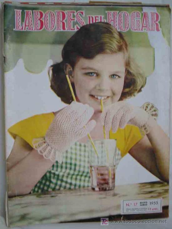 LABORES DEL HOGAR. Nº 17 - 1955. HYMSA (Coleccionismo - Revistas y Periódicos Modernos (a partir de 1.940) - Otros)