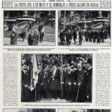 Coleccionismo de Revistas y Periódicos: GALDOS 1916 BILBAO HOMENAJE HOJA REVISTA. Lote 14271960