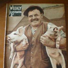 Coleccionismo de Revistas y Periódicos: WEEKLY ILLUSTRATED Nº 9 (29/08/36) GUERRA CIVIL VALLADOLID TOLOSA SAN SEBASTIAN BURGOS FRANCO MOLA . Lote 24503446