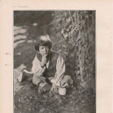 Coleccionismo de Revistas y Periódicos: * CINE * SOBRE EL ACTOR INFANTIL PITUSÍN / POR R. MARTÍNEZ DE LA RIVA - 1926. Lote 211693839