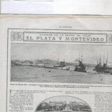 Coleccionismo de Revistas y Periódicos: 1918 MONTEVIDEO URUGUAY BODEGAS FRANCOESPAÑOLAS LOGROÑO LA RIOJA CONSERVAR TREVIJANO VINO. Lote 14347420