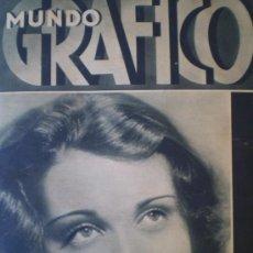 Coleccionismo de Revistas y Periódicos: MUNDO GRAFICO FEBRERO 1932 ARANJUEZ-PEDREZUELA-VALENCIA BARCELONA VER FOTOS. Lote 14375621