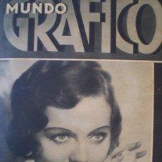 Coleccionismo de Revistas y Periódicos: MUNDO GRAFICO 16 MARZO 1932 VALENCIA FALLAS-BARCELONA-MALAGA SEMANA SANTA-TOLEDO VER FOTOS. Lote 14375705