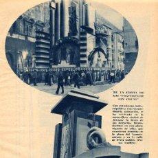 Coleccionismo de Revistas y Periódicos: ALICANTE 1934 HOGUERAS SAN JUAN HOJA REVISTA. Lote 14405369