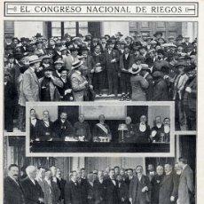 Coleccionismo de Revistas y Periódicos: ZARAGOZA 1913 RIEGOS HUESCA HOJA REVISTA. Lote 14453541