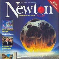 Coleccionismo de Revistas y Periódicos: NEWTON , EL ESPECTÁCULO DE LA CIENCIA , Nº 2 - JUNIO DE 1998. Lote 24641655