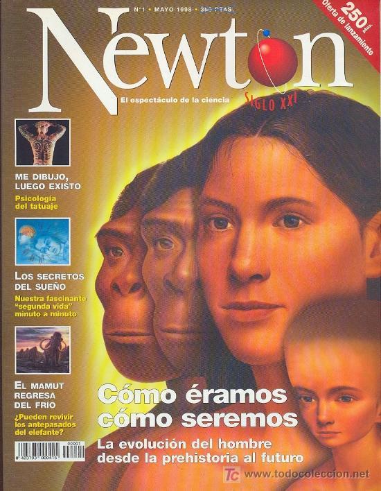 NEWTON , EL ESPECTÁCULO DE LA CIENCIA , Nº 1 - MAYO DE 1998 (Coleccionismo - Revistas y Periódicos Modernos (a partir de 1.940) - Otros)