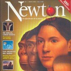 Coleccionismo de Revistas y Periódicos: NEWTON , EL ESPECTÁCULO DE LA CIENCIA , Nº 1 - MAYO DE 1998. Lote 38046035