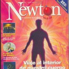 Coleccionismo de Revistas y Periódicos: NEWTON , EL ESPECTÁCULO DE LA CIENCIA , Nº 3 - JULIO DE 1998. Lote 24755353
