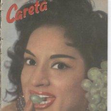 Coleccionismo de Revistas y Periódicos: REVISTA CARETA AÑO 1957 PORTADA DE LOLA FLORES ERROLFLYNN EN ESTEPONA POLIO. Lote 14540483
