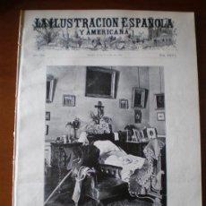Coleccionismo de Revistas y Periódicos: ILUSTRACION ESPAÑOLA/AMERICANA (22/10/10) REVOLUCION PORTUGAL GETAFE TOLEDO ALGECIRAS BELLAS ARTES . Lote 26004806
