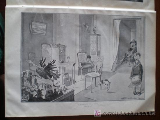 Coleccionismo de Revistas y Periódicos: ILUSTRACION: LA INVASION DE LOS.......... PAVOS, DIBUJO DE JEAN - Foto 3 - 34517223