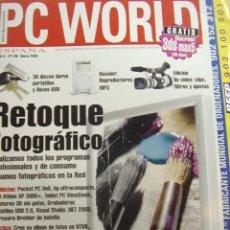 Coleccionismo de Revistas y Periódicos: REVISTA PC WORLD Nº 196, MARZO 2003. RETOQUE FOTOGRÁFICO.. Lote 14680498