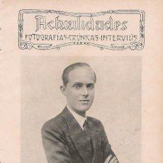 Coleccionismo de Revistas y Periódicos: S.A. R. EL PRÍNCIPE DE ASTURIAS ( FOTO FRANZEN) - 1929. Lote 22130720
