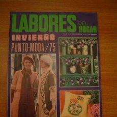 Sammeln von Zeitschriften und Zeitungen - REVISTA LABORES DEL HOGAR Nº 198 NOVIEMBRE 1974 INVIERNO PUNTO - MODA / 75 - 14737548