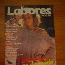 Coleccionismo de Revistas y Periódicos: REVISTA LABORES DEL HOGAR -AGOSTO 1984 Nº 315 LABORES DE AGOSTO-- LABORES DE MODA. Lote 14737896