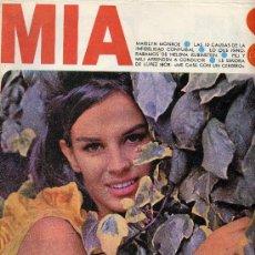 Coleccionismo de Revistas y Periódicos: MIA Nº17 (AGOSTO 1965). MARILYN MONROE, PILI Y MILI, HELENA RUBINSTEIN, LOPEZ IBOR,... . Lote 14808778