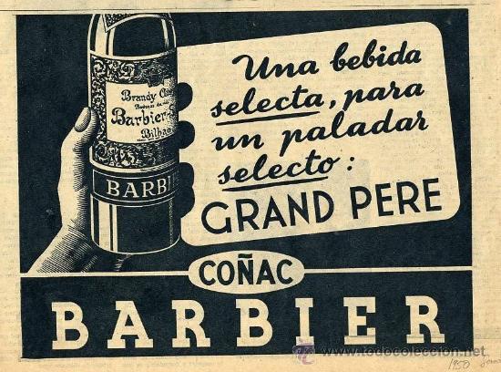 COÑAC BARBIER 1950 BILBAO RETAL REVISTA (Coleccionismo - Revistas y Periódicos Modernos (a partir de 1.940) - Otros)