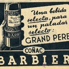 Coleccionismo de Revistas y Periódicos: COÑAC BARBIER 1950 BILBAO RETAL REVISTA. Lote 14829196