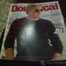 Coleccionismo de Revistas y Periódicos: REVISTA DOMINICAL 1995 PORTADA ROBERT REDFORD. . Lote 14890162