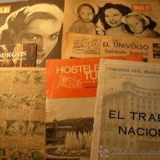 Coleccionismo de Revistas y Periódicos: 7 VARIOS : 4 REVISTAS + 1 LIBRO +2 TBO ANTIGUOS. Lote 23971911