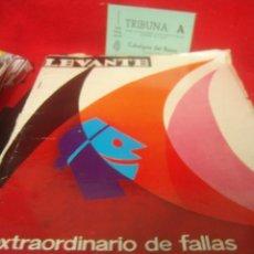 Coleccionismo de Revistas y Periódicos: REVISTA FALLERA FALLAS VALENCIA FALLERO FALLERA. LEVANTE EXTRAORDINARIO DE FALLAS 1966. Lote 22933806