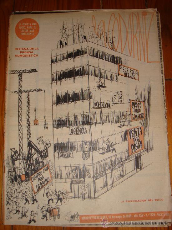 LA CODORNIZ Nº 1226 AÑO 1965 (Coleccionismo - Revistas y Periódicos Modernos (a partir de 1.940) - Otros)