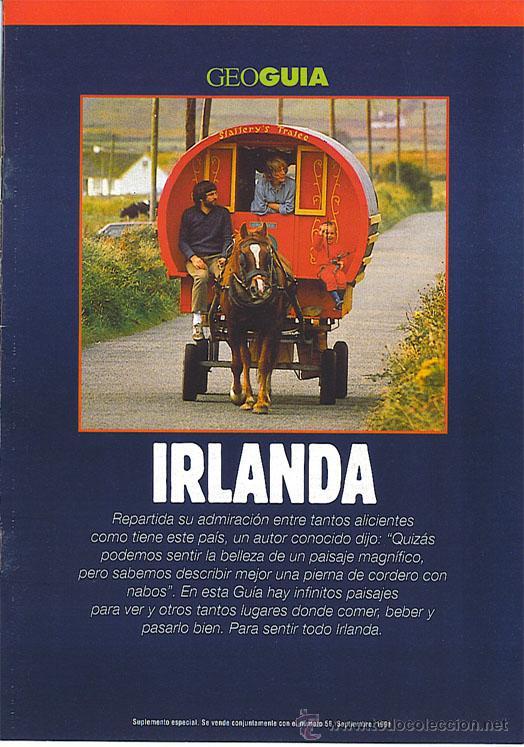 GEO GUÍA - IRLANDA - 1991 (Coleccionismo - Revistas y Periódicos Modernos (a partir de 1.940) - Otros)