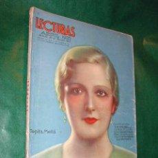 Coleccionismo de Revistas y Periódicos: REVISTA: LECTURAS N.167 ABRIL 1935. Lote 15108818