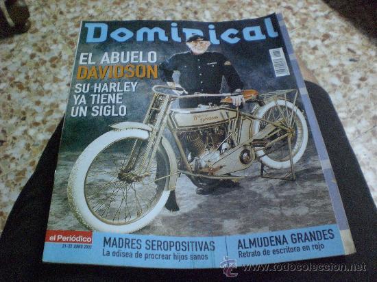REVISTA DOMINICAL AÑO 2003 PORTADA HARLEY DAVIDSON (Coleccionismo - Revistas y Periódicos Modernos (a partir de 1.940) - Otros)