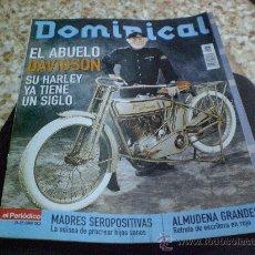 Coleccionismo de Revistas y Periódicos: REVISTA DOMINICAL AÑO 2003 PORTADA HARLEY DAVIDSON. Lote 22029065