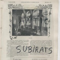 Coleccionismo de Revistas y Periódicos: ILUSTRACION CATOLICA AÑO 1906 MODERNISMO BARON DE CUADRAS PUIG Y CADAFALCH GENERAL MITRE GRANADA. Lote 15137977