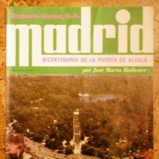 """Coleccionismo de Revistas y Periódicos: MADRID PUERTA DE ALCALA """"ESPASA CALPE"""" AÑO 1978. Lote 15164448"""