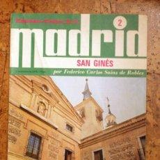 """Coleccionismo de Revistas y Periódicos: MADRID SAN GINES """"ESPASA CALPE"""" Nº 2 AÑO 1978. Lote 15164517"""