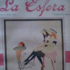 Coleccionismo de Revistas y Periódicos: REVISTA LA ESFERA 25 NOVIEMBRE 1916 TORO (ZAMORA) ANTEQUERA (MALAGA) VER FOTOS Y LISTA DE ARTÍCULOS. Lote 15224442