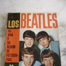 Coleccionismo de Revistas y Periódicos: LOS BEATLES.SU VIDA Y SU ALBUM DE FOTOGRAFIAS.20 PESETAS. Lote 26466618