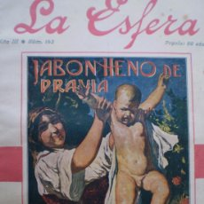 Coleccionismo de Revistas y Periódicos: REVISTA LA ESFERA 23 SEPTIEMBRE 1916 MONASTERIO DE PIEDRA-ZARAGOZA-YUSTE (CACERES) VER FOTOS. Lote 86045515