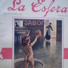 Coleccionismo de Revistas y Periódicos: REVISTA LA ESFERA 12 AGOSTO 1916 MONOGRAFICO BILBAO Y VIZCAYA VER FOTOS. Lote 15298007