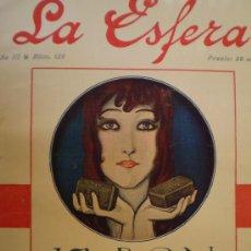 Coleccionismo de Revistas y Periódicos: REVISTA LA ESFERA 17 JUNIO 1916 COVADONGA-GRANADA VER FOTOS. Lote 15298243
