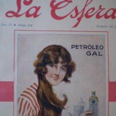 Coleccionismo de Revistas y Periódicos: REVISTA LA ESFERA 26 FEBRERO 1916 SEVILLA-MONASTERIO DE SAN ZOIL (CARRION DE LOS CONDES) VER FOTOS. Lote 15298387