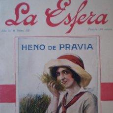 Coleccionismo de Revistas y Periódicos: REVISTA LA ESFERA 19 FEBRERO 1916 VALLADOLID-SIGUENZA (GUADALAJARA) VER FOTOS. Lote 15298392